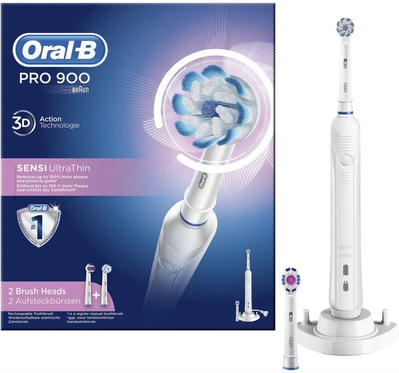 Oral B PRO  900 Sensi UltraThin D16.524.3U elektryczna szczoteczka do zębów