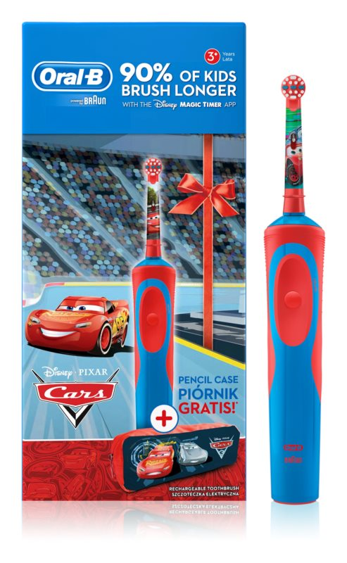 Oral B Stages Power Cars D12.513K Cosmetica Set  I.