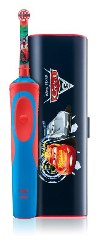 Oral B Stages Power Cars D12.513.1 elektrický zubní kartáček s pouzdrem