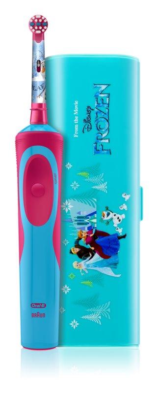 Oral B Stages Power Frozen D12.513K cepillo de dientes eléctrico con estuche 39ae14c003ad