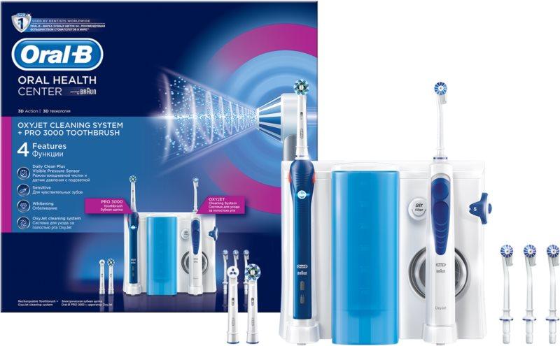 Oral B Oxyjet +3000 elektrická zubná kefka a ústna sprcha v jednom