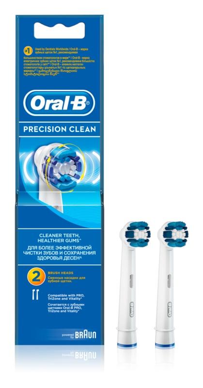 Oral B Precision Clean EB 20 têtes de remplacement pour brosse à dents