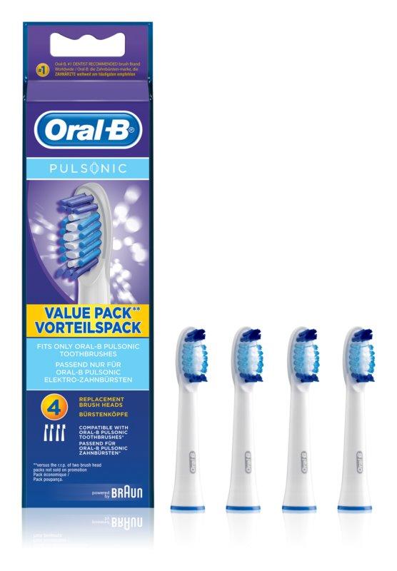 Oral B Pulsonic SR 32-4 cabeças de reposição para escova de dentes