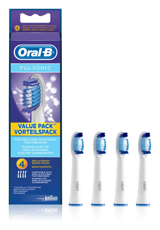 Oral B Pulsonic SR 32-4 Replacement Heads For Toothbrush