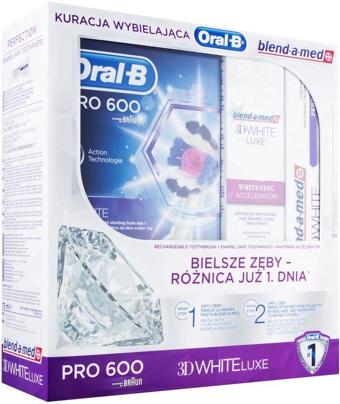 Oral B 3D White Luxe coffret cosmétique I.