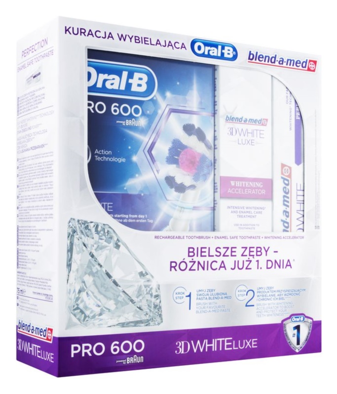 Oral B 3D White Luxe lote cosmético I.