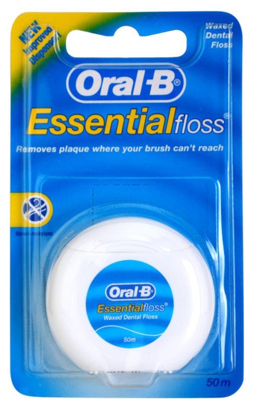 Oral B Essential Floss voskovaná dentální nit