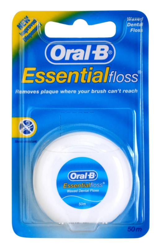 Oral B Essential Floss woskowana nić dentystyczna