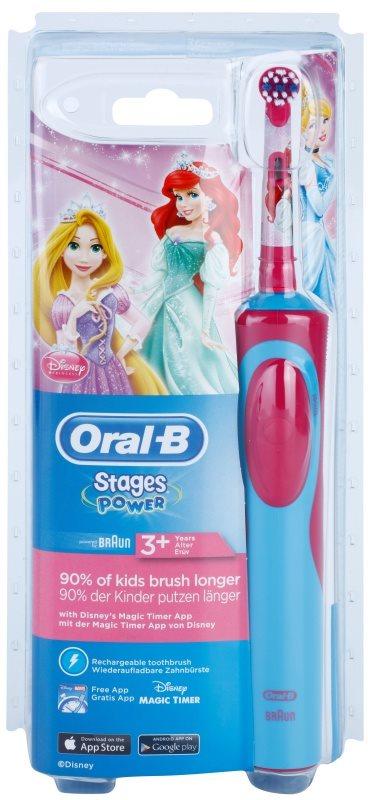 Oral B Kids Power D12.513.1 cepillo de dientes eléctrico  para niños