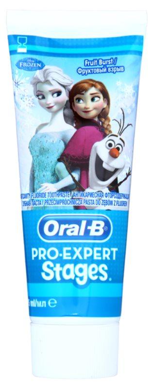 Oral B Pro-Expert Stages Frozen pasta do zębów dla dzieci
