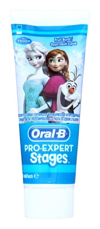 Oral B Pro-Expert Stages Frozen Zahnpasta für Kinder