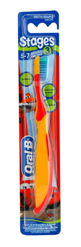Oral B Stages 3 fogkefe gyermekeknek gyenge