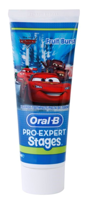 Oral B Pro-Expert Stages Cars pasta de dientes para niños