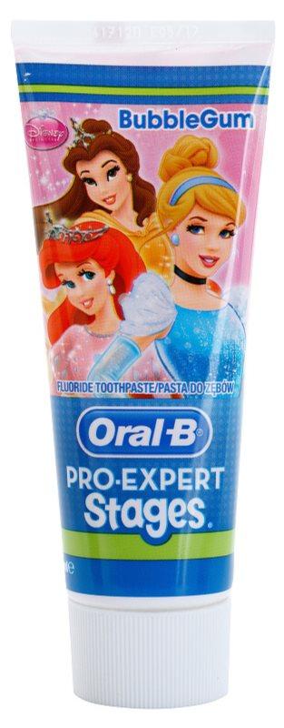 Oral B Pro-Expert Stages Princess zubná pasta pre deti