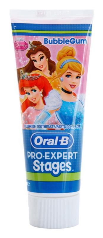 Oral B Pro-Expert Stages Princess zubní pasta pro děti