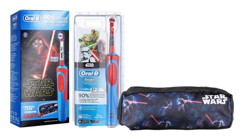 Oral B Stages Power Star Wars D12.513K lote cosmético I.