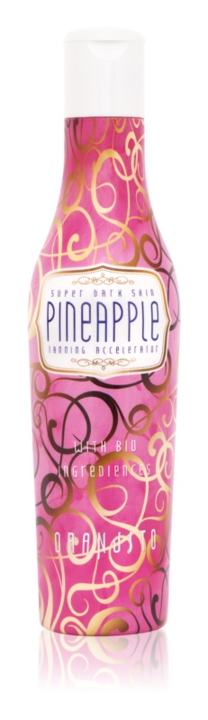 Oranjito Max. Effect Pineapple Solarium Sunscreen with Organic Ingredients and Tan Accelerator