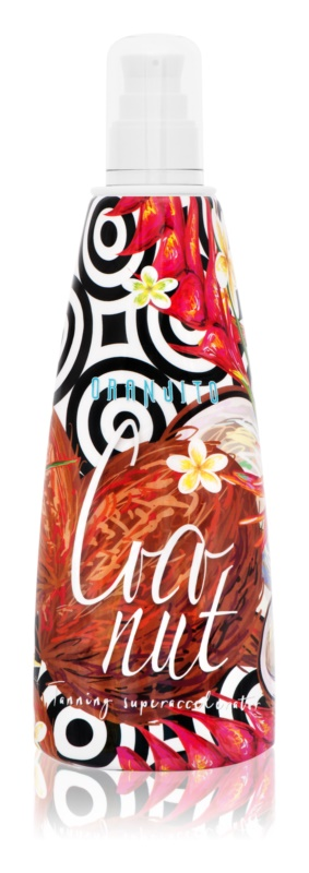 Oranjito Max. Effect Coconut Tanning Bed Sunscreen Lotion Accelerate Tanning