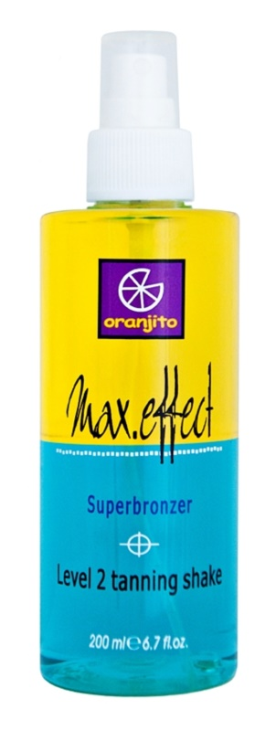 Oranjito Level 2 Shake Twee-Fasen Zonnebank Bruiningsspray
