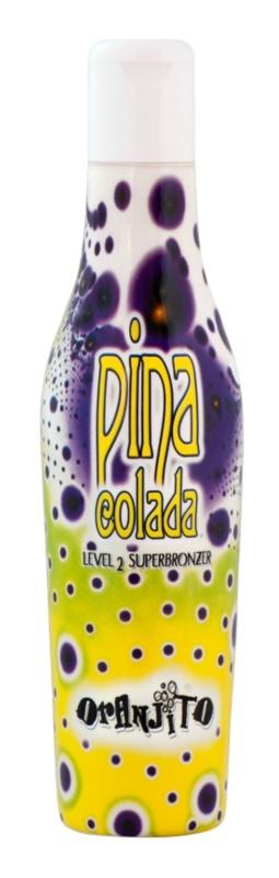 Oranjito Level 2 Pina Colada Bräunungsmilch für Solariumaufenthalte