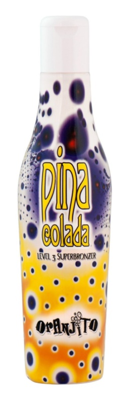 Oranjito Level 3 Pina Colada Bräunungsmilch für Solariumaufenthalte