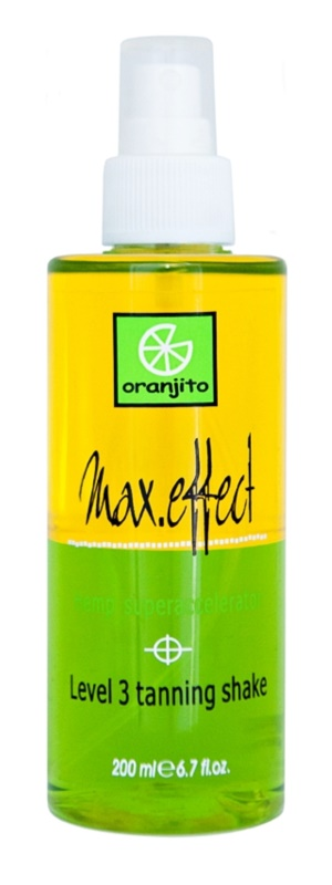 Oranjito Level 3 Shake Spray de bronzare dupa solar in doua faze