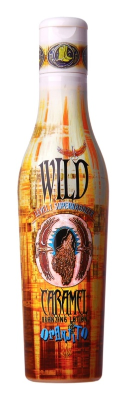 Oranjito Level 2 Wild Caramel Tanning Bed Sunscreen Lotion