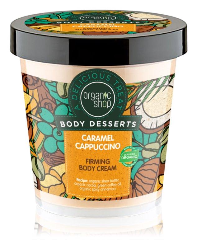 Organic Shop Body Desserts Caramel Cappuccino spevňujúci telový krém