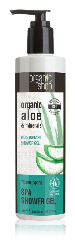 Organic Shop Organic Aloe & Minerals gel de ducha armonizante