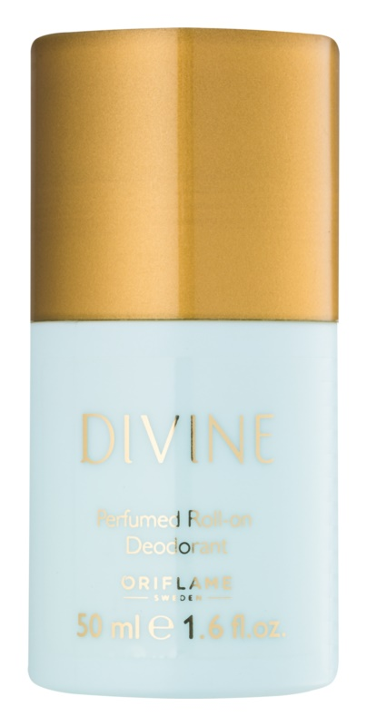 Oriflame Divine deodorant roll-on pro ženy 50 ml