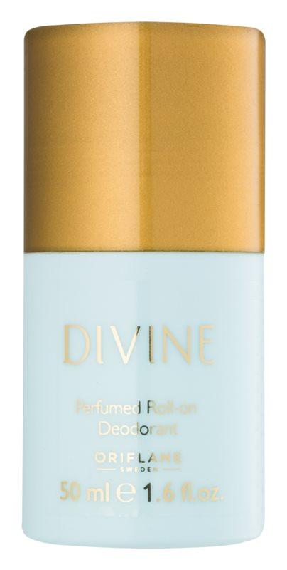 Oriflame Divine desodorante roll-on para mujer 50 ml