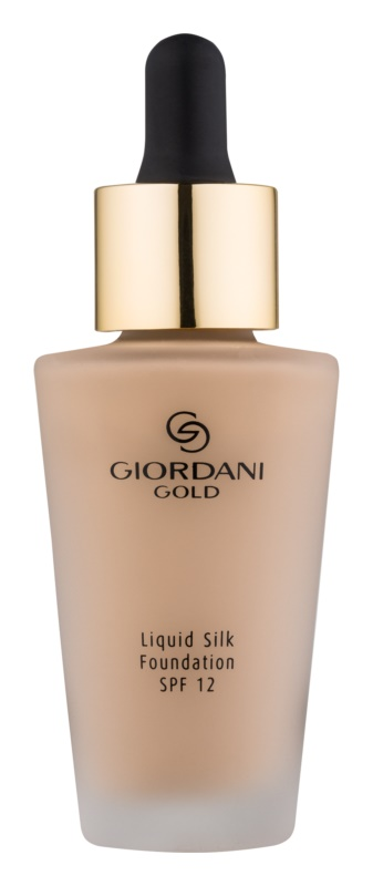 Oriflame Giordani Gold make-up pre prirodzený vzhľad SPF 12