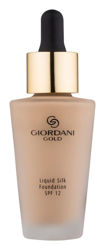 Oriflame Giordani Gold make-up pro přirozený vzhled SPF 12