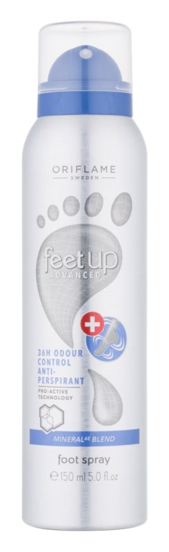 Oriflame Feet Up Advanced Refreshing Foot Spray with Deo Effect