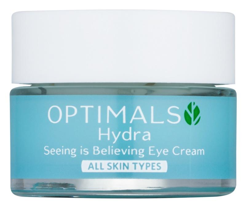 Oriflame Optimals creme de olhos hidratante