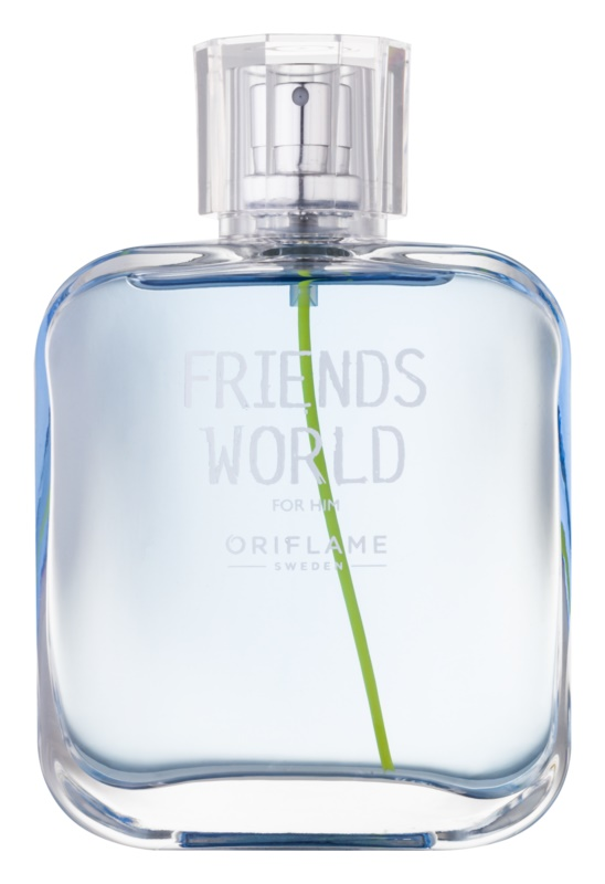 Oriflame Friends World eau de toilette férfiaknak 75 ml
