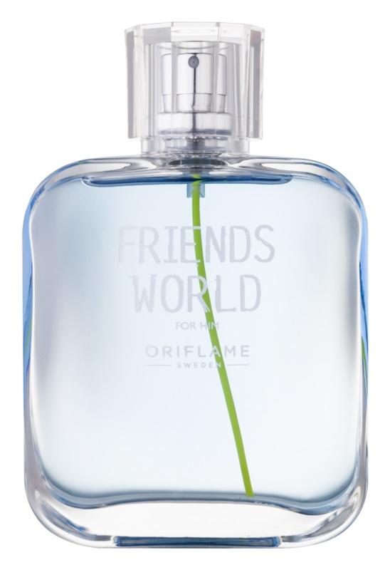 Oriflame Friends World Eau de Toilette voor Mannen 75 ml