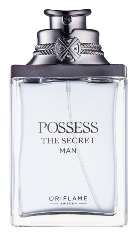 Oriflame Possess The Secret Man eau de parfum per uomo 75 ml