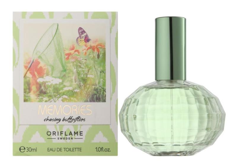 Oriflame Memories: Chasing Butterflies Eau de Toilette voor Vrouwen  30 ml