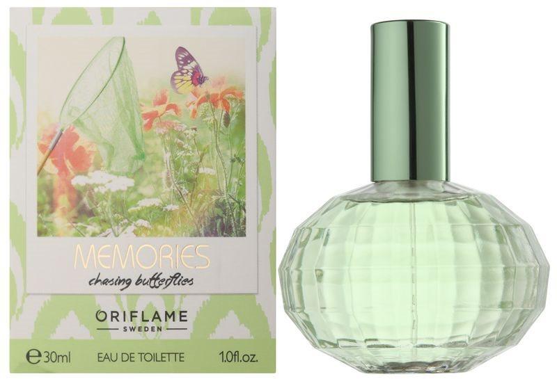 Oriflame Memories: Chasing Butterflies toaletná voda pre ženy 30 ml
