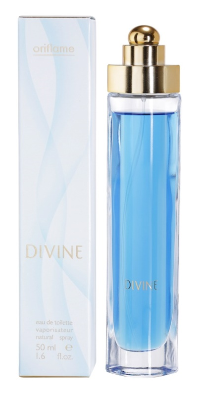 Oriflame Divine eau de toilette per donna 50 ml