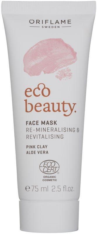 Oriflame Eco Beauty maseczka rewitalizująca z minerałami