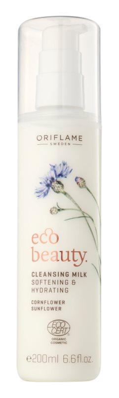 Oriflame Eco Beauty leche desmaquillante con efecto humectante