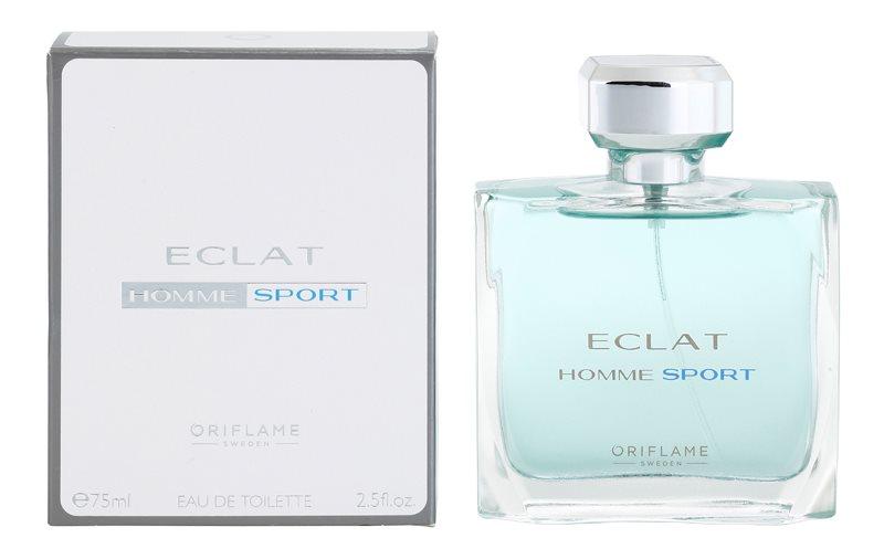 Oriflame Eclat Homme Sport Eau de Toilette para homens 75 ml