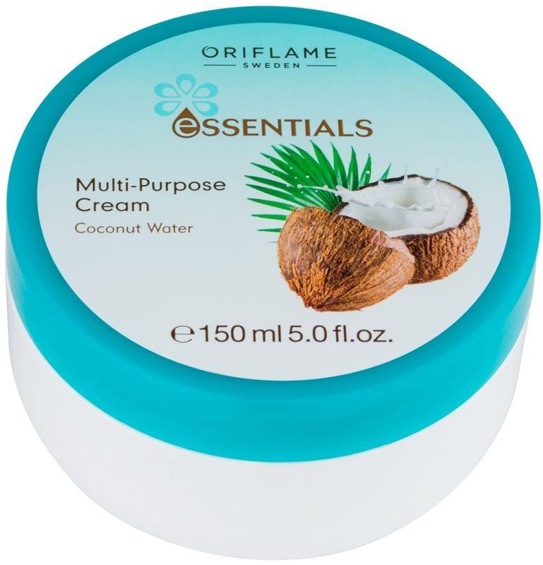 Oriflame Essentials crema para cara y cuerpo con coco