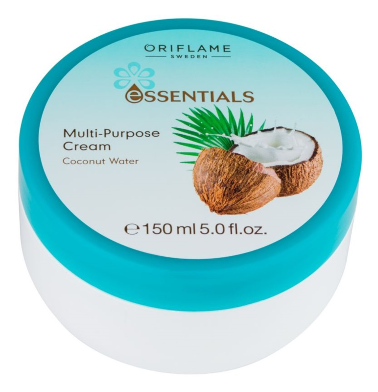 Oriflame Essentials creme de rosto e corpo com coco