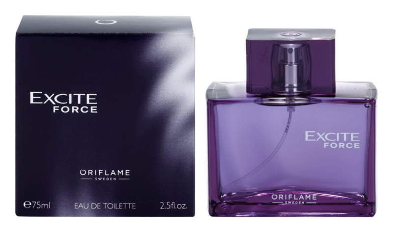 Oriflame Excite Force Eau de Toilette für Herren 75 ml