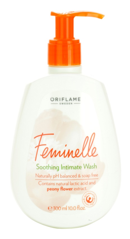 Oriflame Feminelle emulsión calmante para la higiene íntima