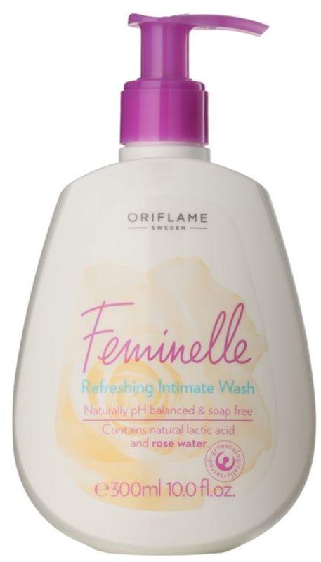 Oriflame Feminelle gel refrescante de higiene íntima