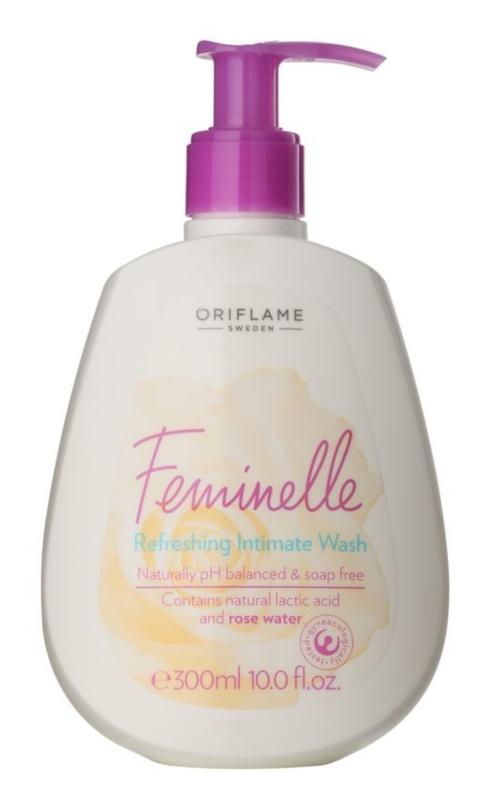 Oriflame Feminelle odświeżający żel do higieny intymnej